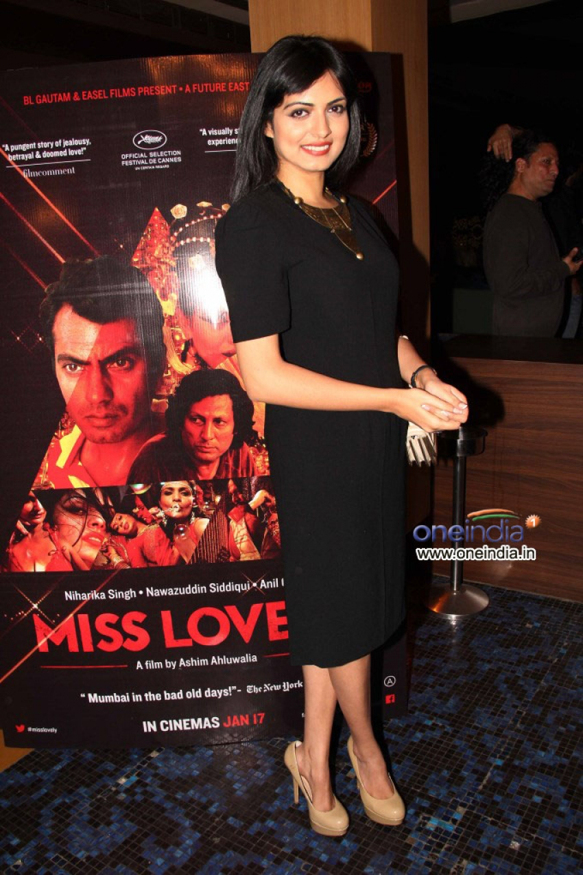 First Look Launch Of Film Miss Lovely Photos