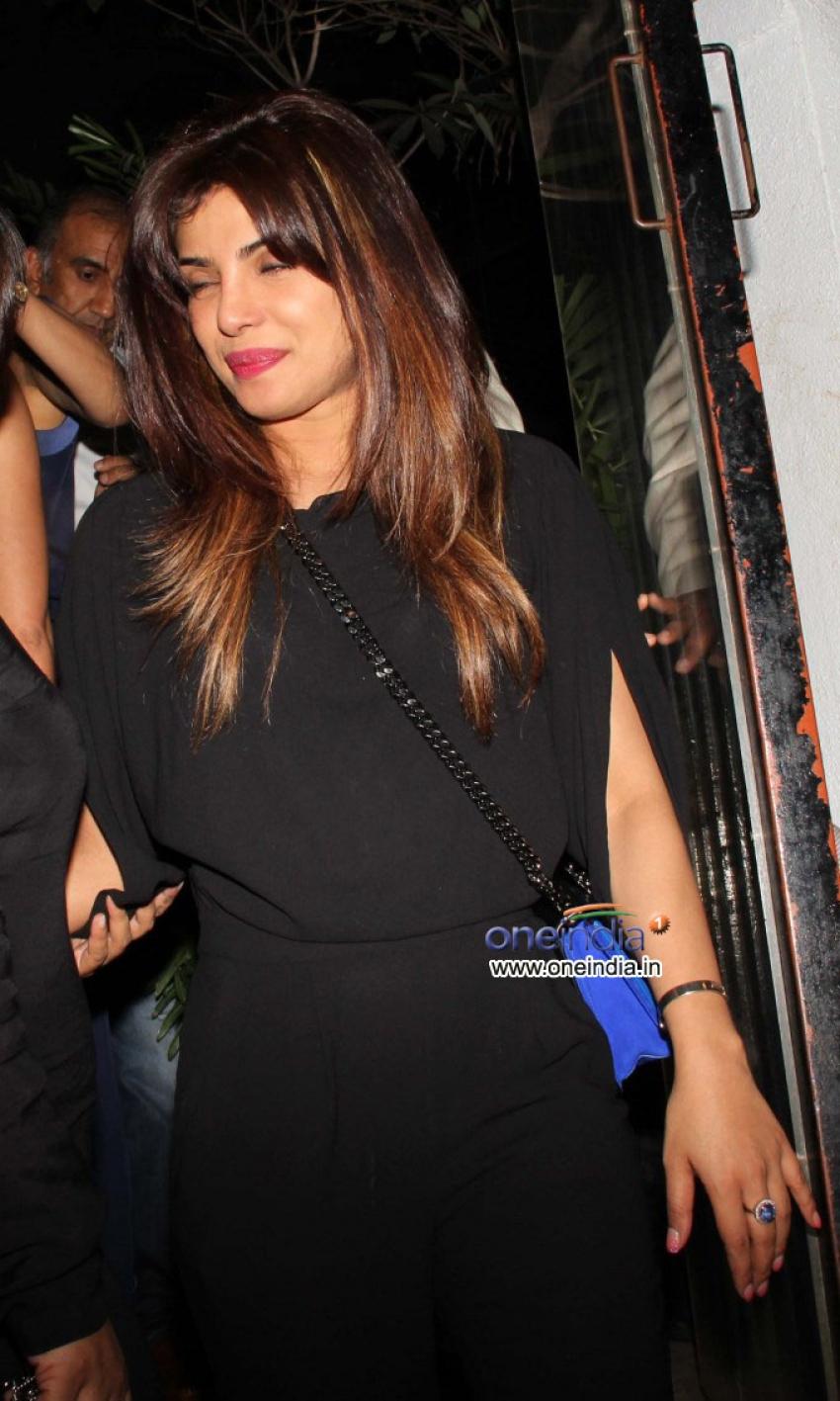 Priyanka Chopra, Sushmita Sen and Preity Zinta spotted at NIDO Photos