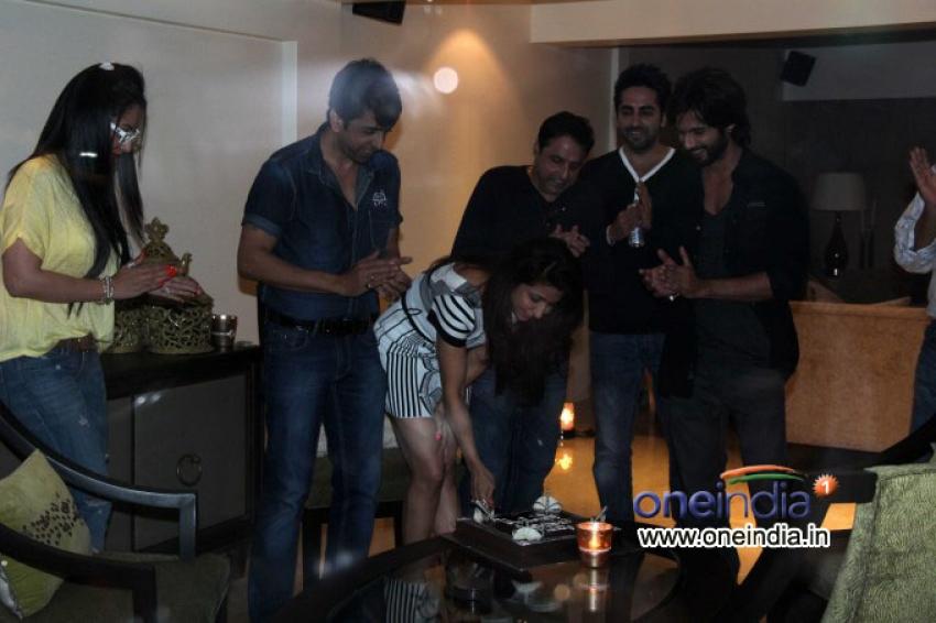 R Rajkumar Special Screening Photos