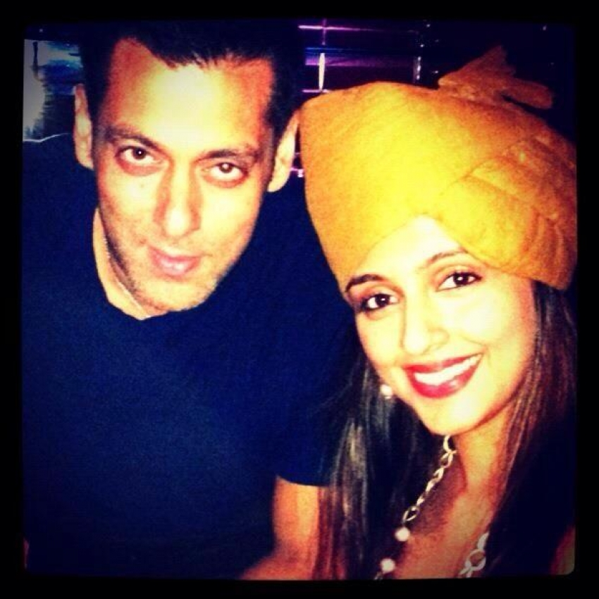 Salman Khan's 48th Birthday Bash Photos