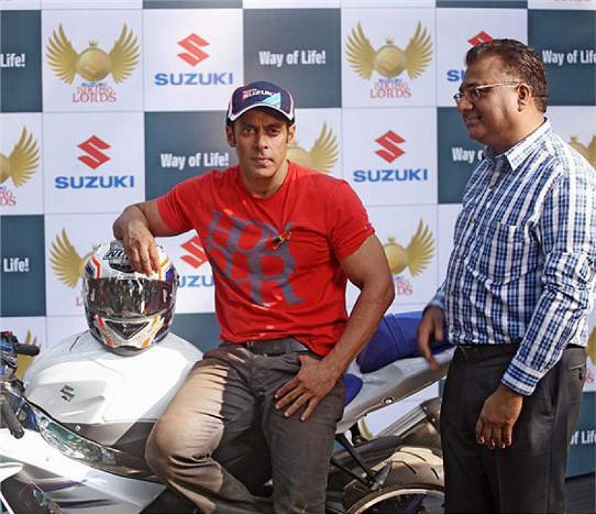 Salman Khan at the launch of Suzuki Biking Lords Photos