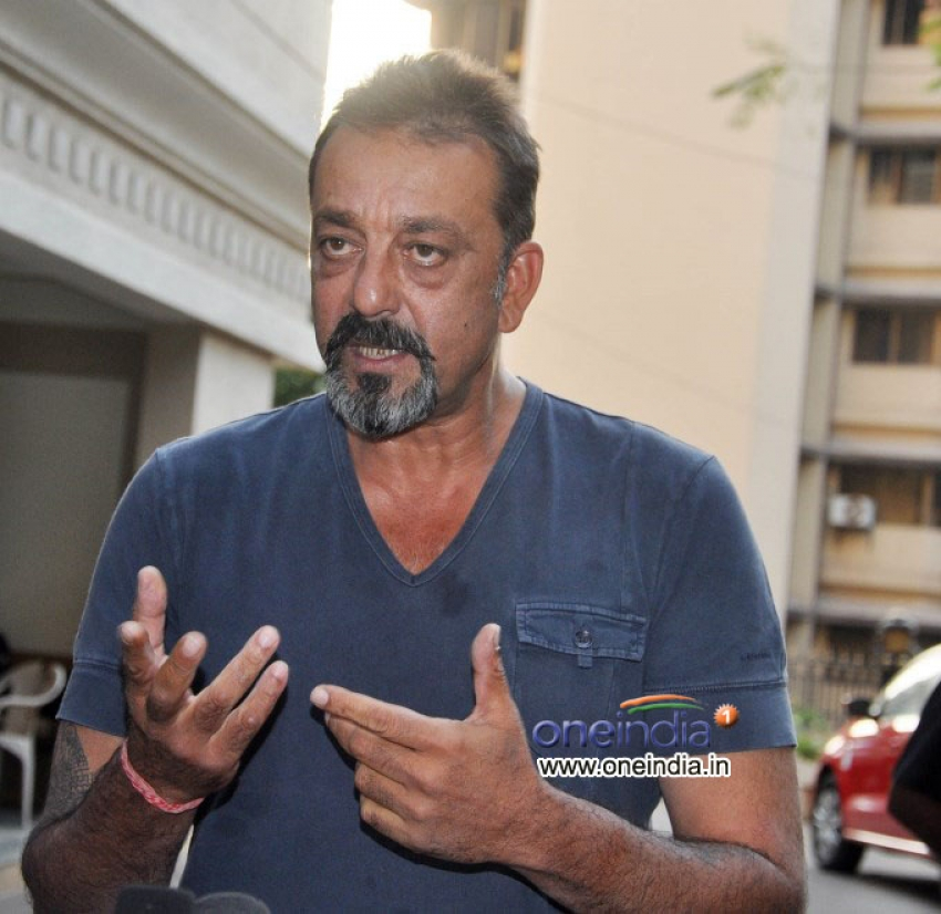 Sanjay Dutt released on parole Photos