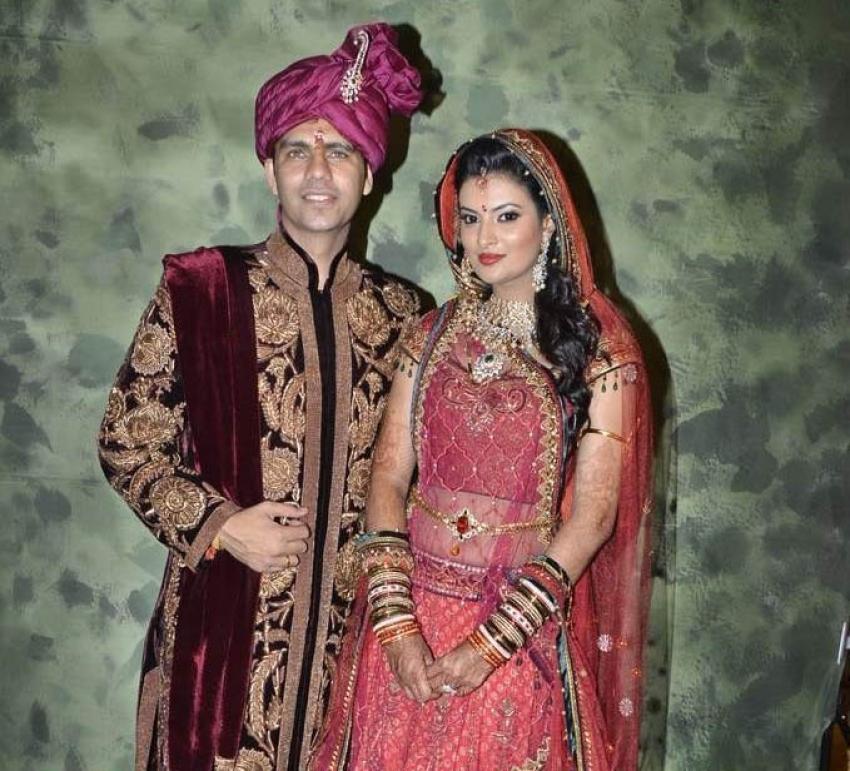 Sayali Bhagat Weds Navneet Pratap Singh Photos