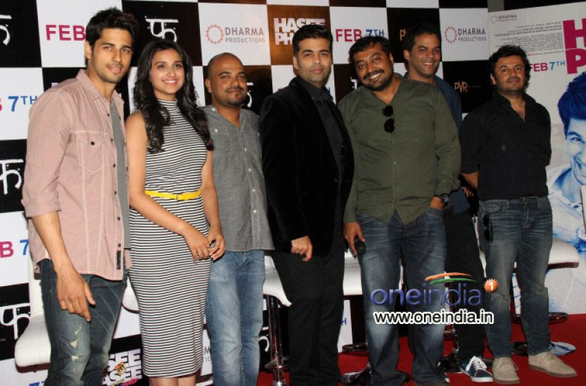 Hasee Toh Phasee First Look Launched Photos