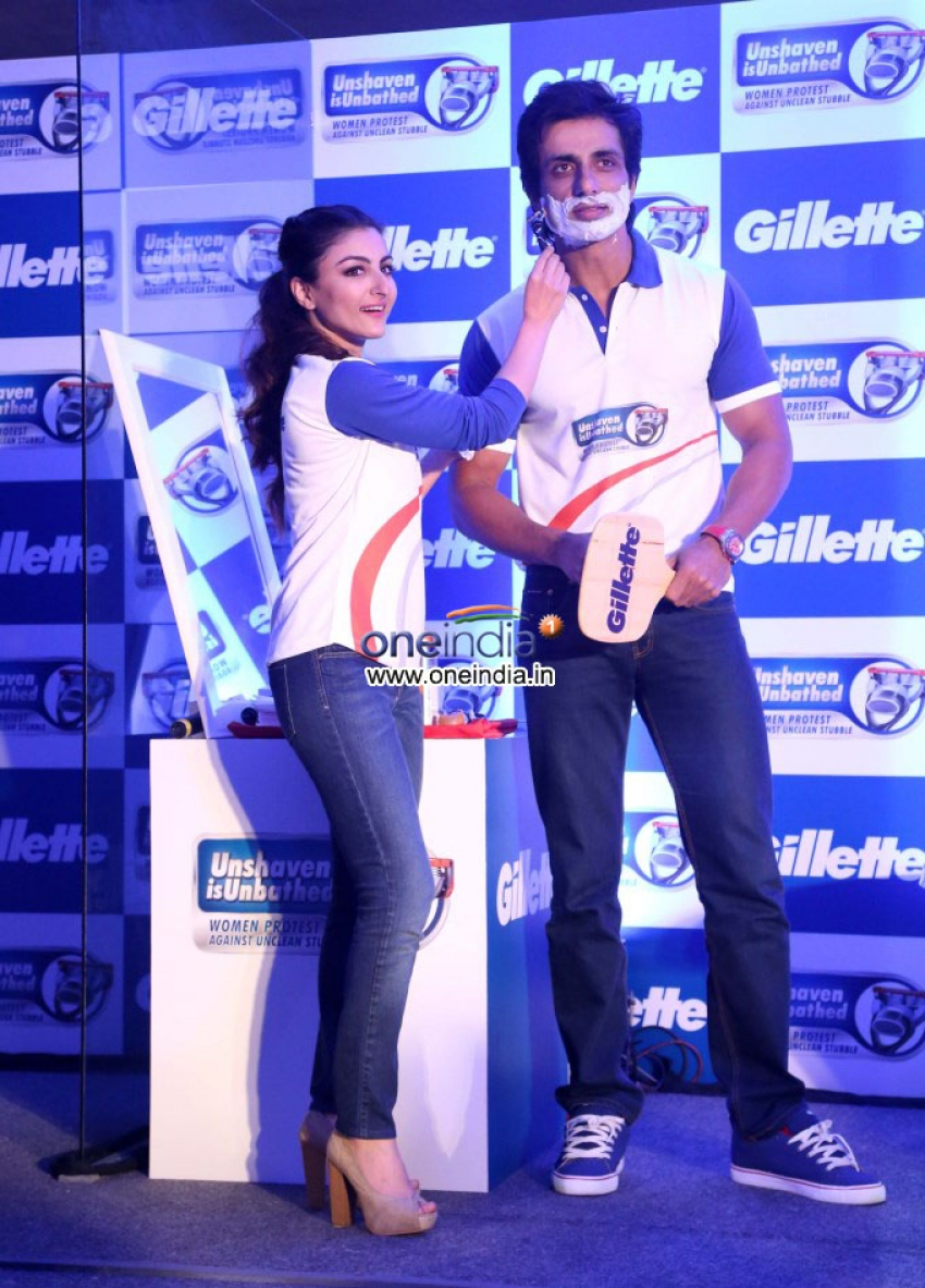 Launch of Gillette's Unshaven is Unbathed campaign Photos