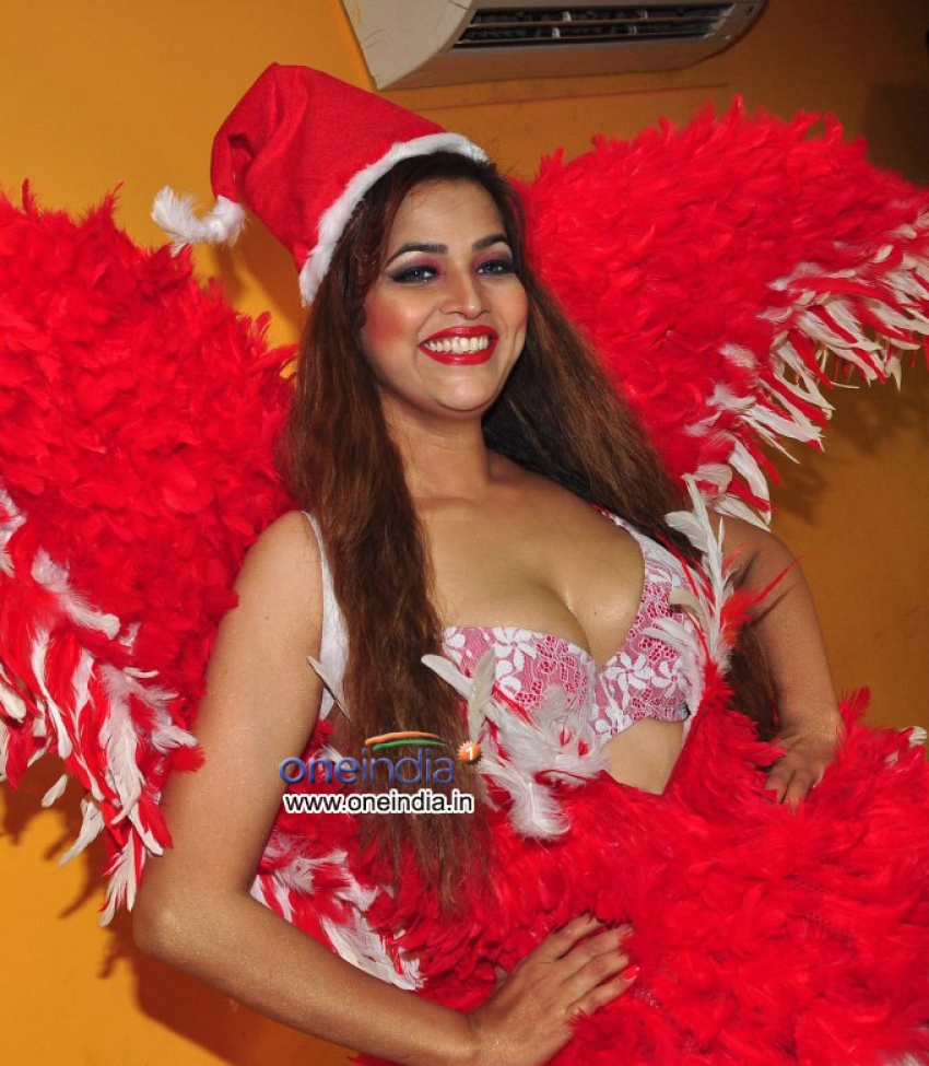 Tanisha Singh Christmas Photoshoot Photos