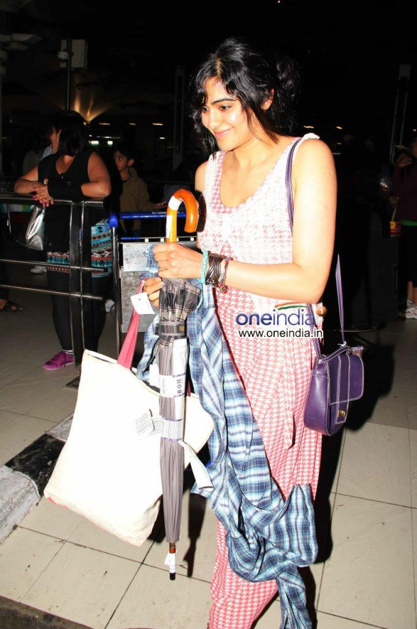 Alia Bhatt. Ekta Kapoor and Sharman Joshi snapped at Airport Photos