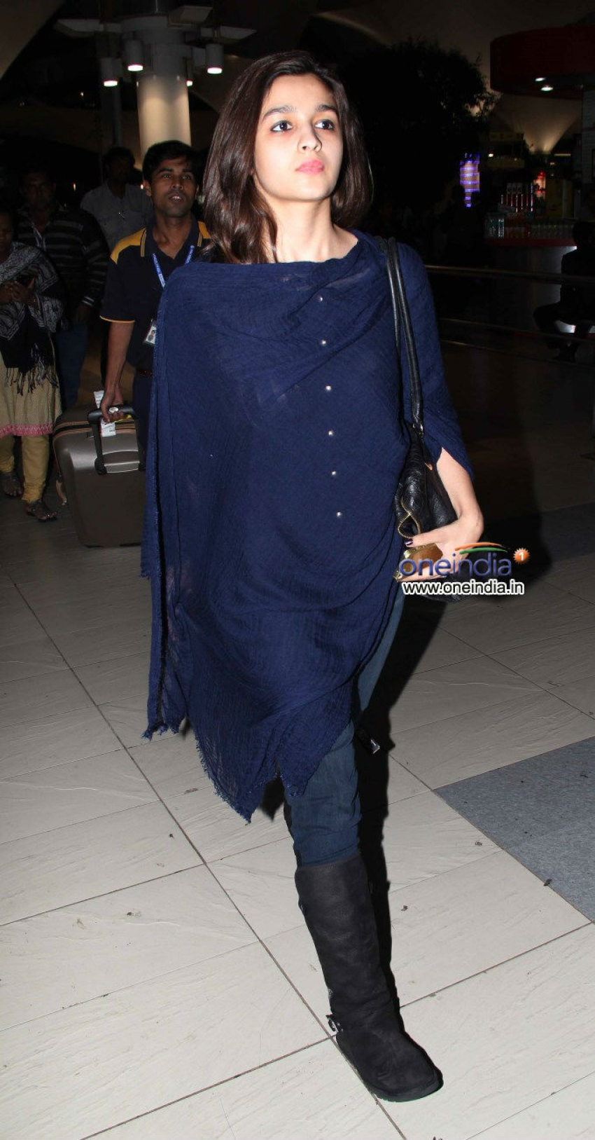 Alia Bhatt. Ekta Kapoor and Sharman Joshi snapped at Airport Photos