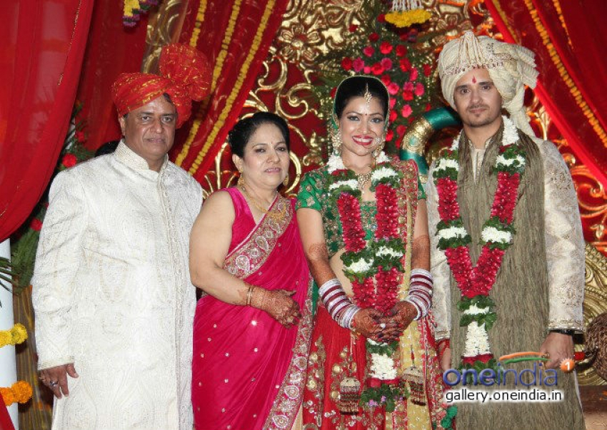 Amita Pathak and Raghav Sachar Wedding Photos