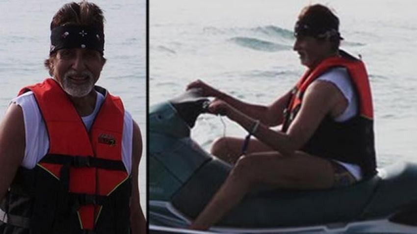 Amitabh Bachchan's New Year Vacation in Goa Photos