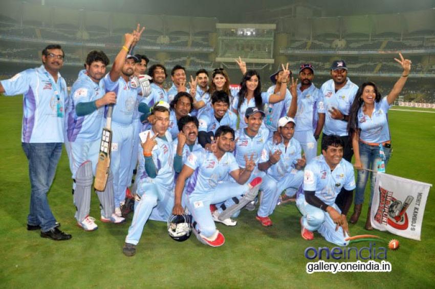 CCL 4 : Veer Marathi Vs Bhojpuri Dabanggs Photos