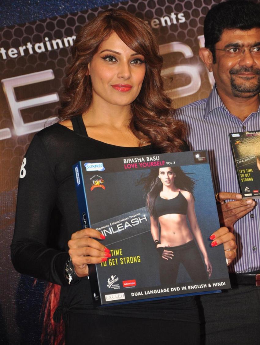 Bipasha Basu Launch 3rd Fitness Unleash DVD Photos