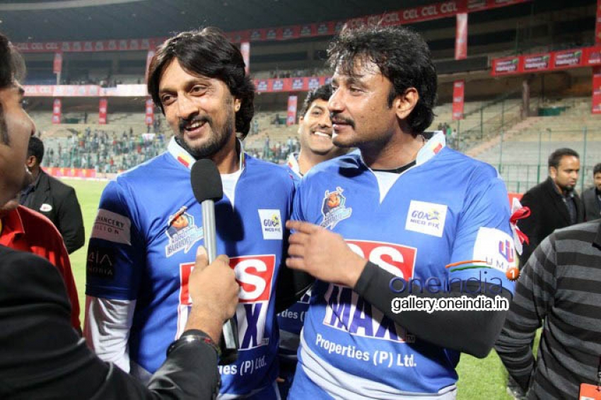 CCL 4: Karnataka Bulldozers Vs Bengal Tigers Photos