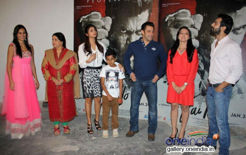 Jai Ho Film Promotion At Mehboob Studio Bandra Photos