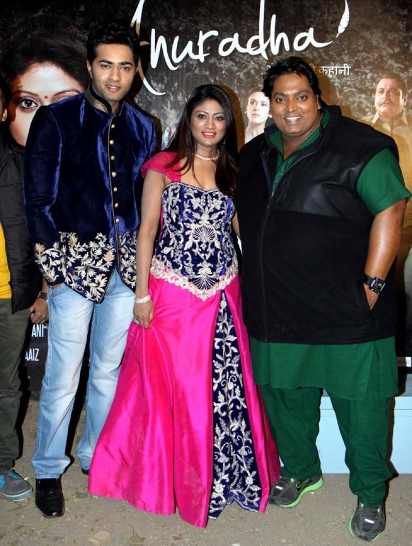 Anuradha Film Song Shooting Photos