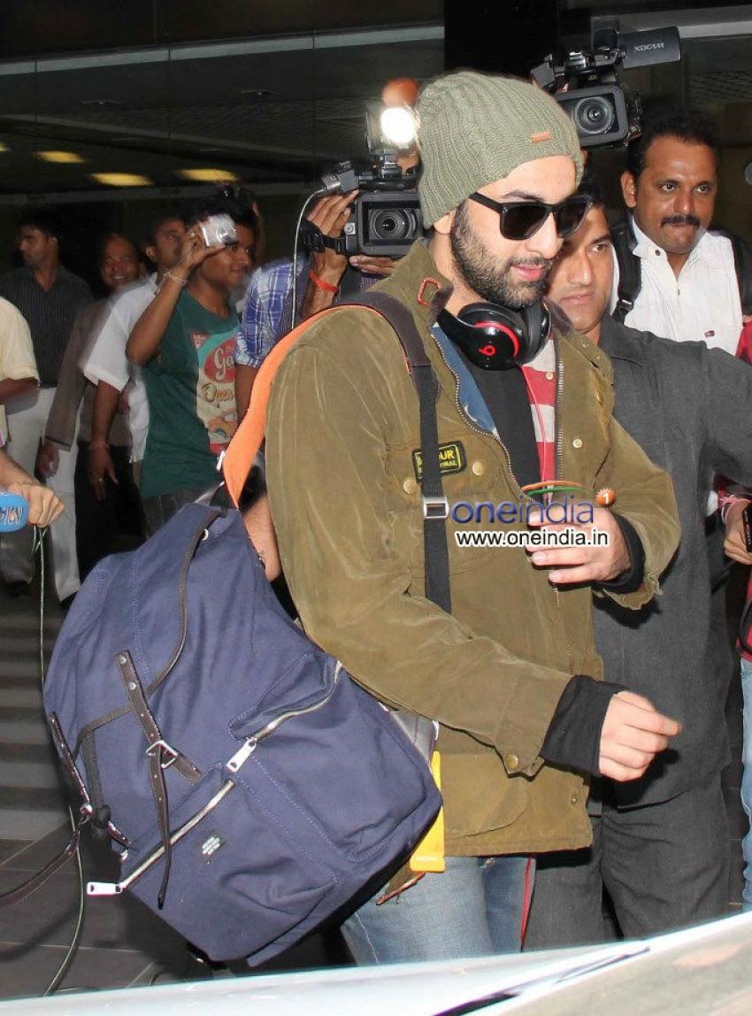 Ranbir Kapoor, John Abraham and Arjun Rampal snapped at Mumbai Airport Photos