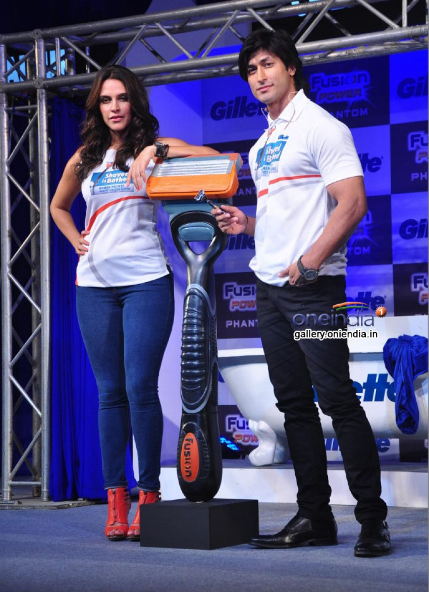 Gillette launch Fusion Power Phantom Photos