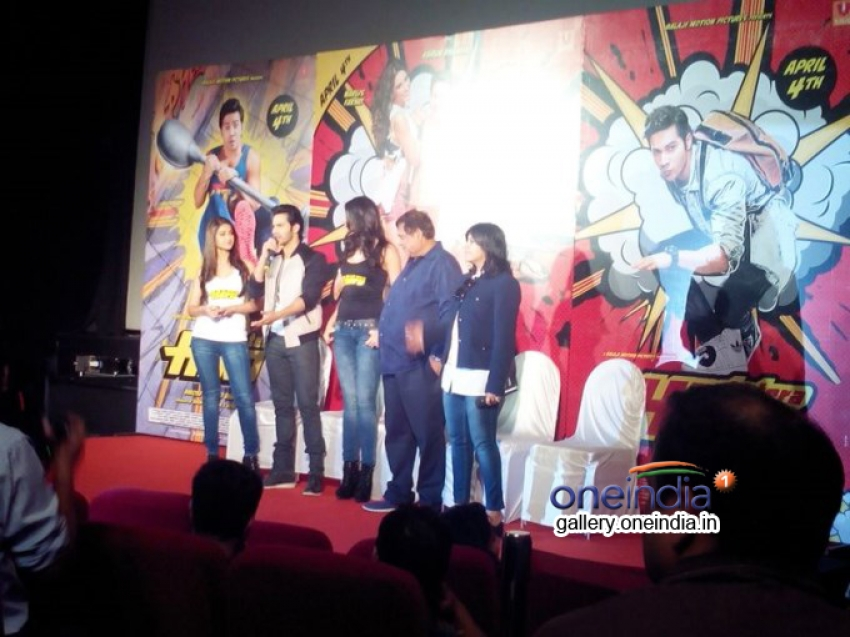 Main Tera Hero Film Trailer Launch Photos
