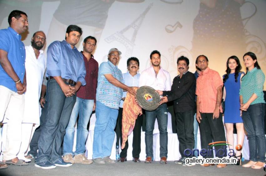 Oru Modhal Oru Kadhal Audio Launch Photos