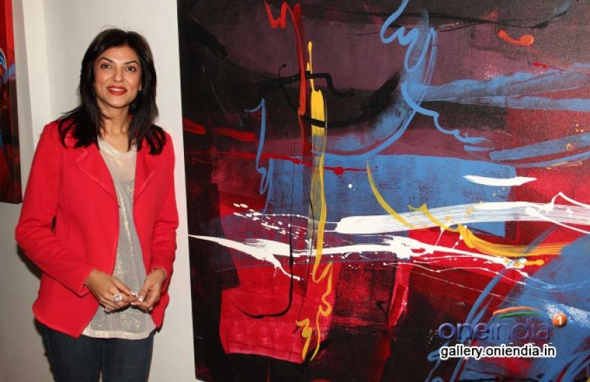 Sushmita Sen at Rouble Nagi Art Foundation Photos