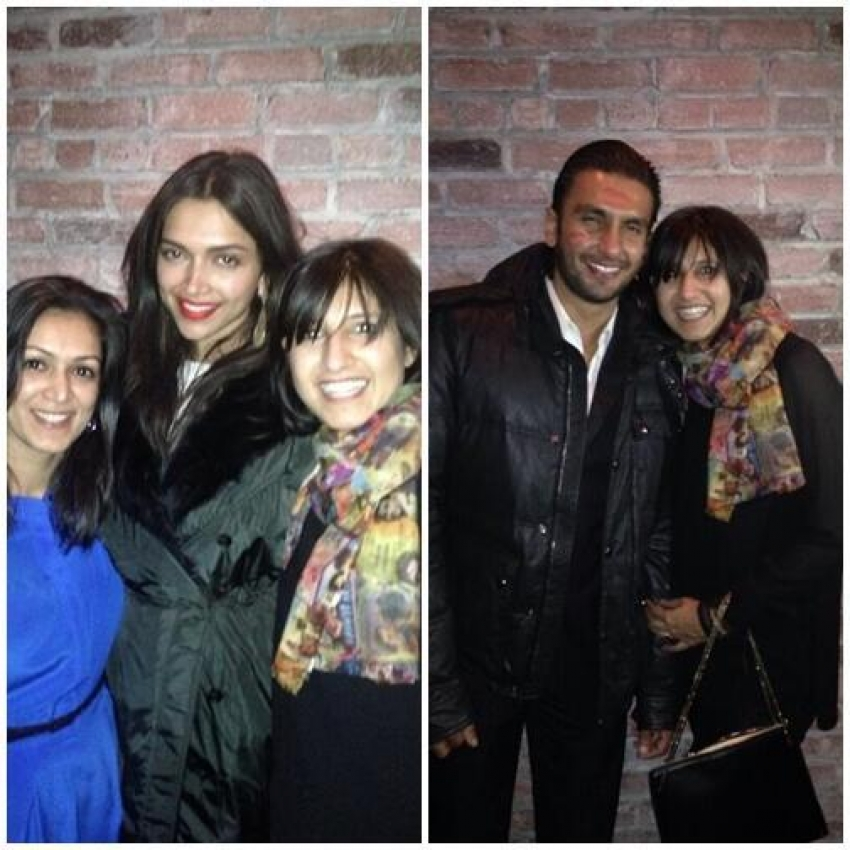 Deepika Padukone Celebrates Her Birthday With Ranveer Singh in NY Photos