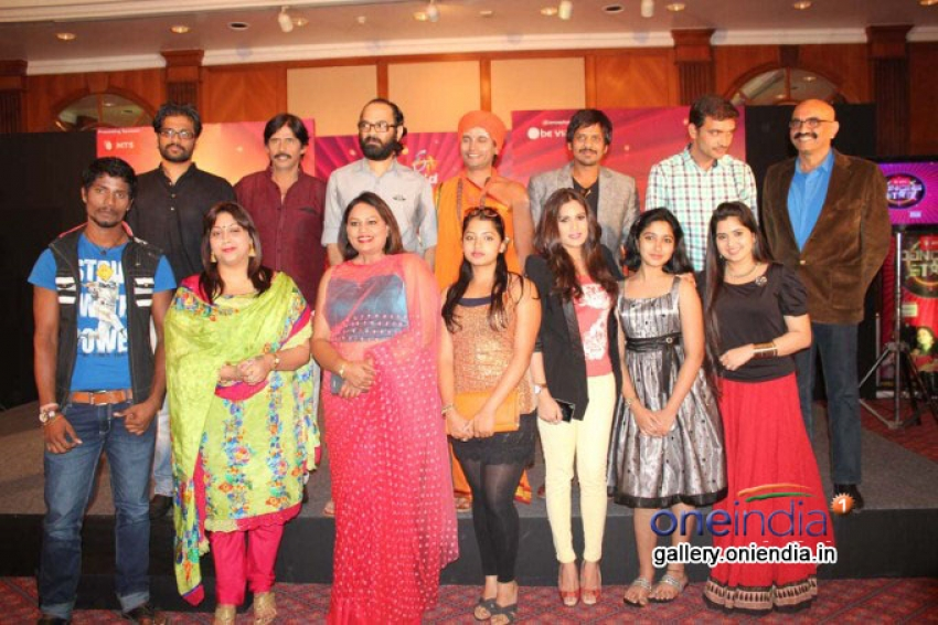 ETV Kannada's MTS Dancing Stars Reality Show Press Meet Photos