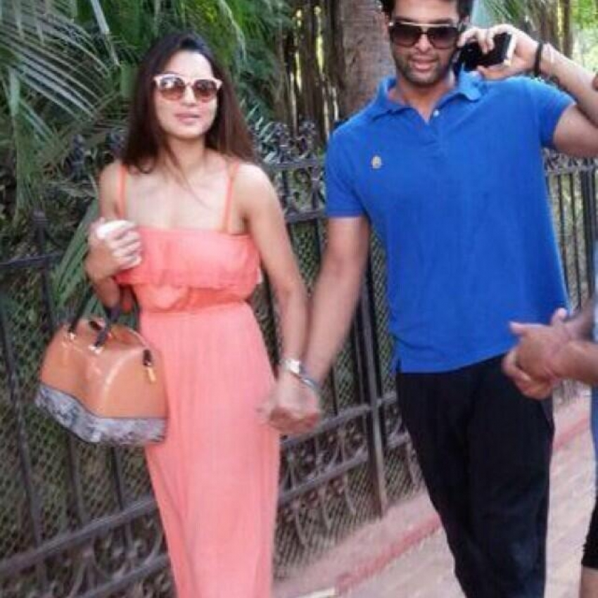 Gauhar Khan and Kushal Tandon spotted together in Goa Photos