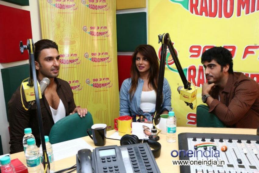 Gunday film promotion at Radio Mirchi Photos