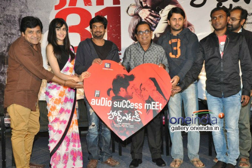 Heart Attack Audio Success Meet Photos