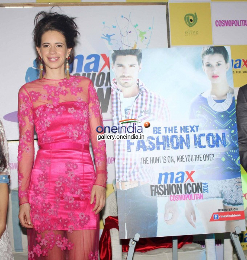 Announcement of Max Fashion Icon 2014 Photos