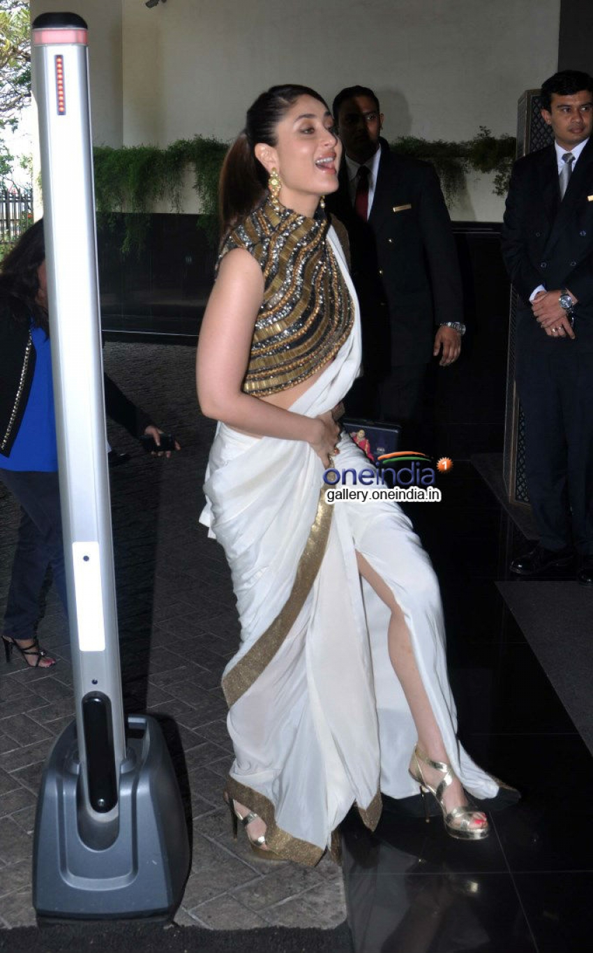 Kareena Kapoor at a lunch hosted in honour of First Lady of France Photos