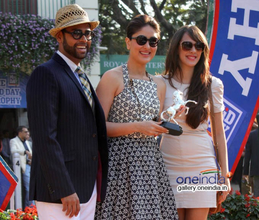 Kareena Kapoor attends the Mid Day races Photos