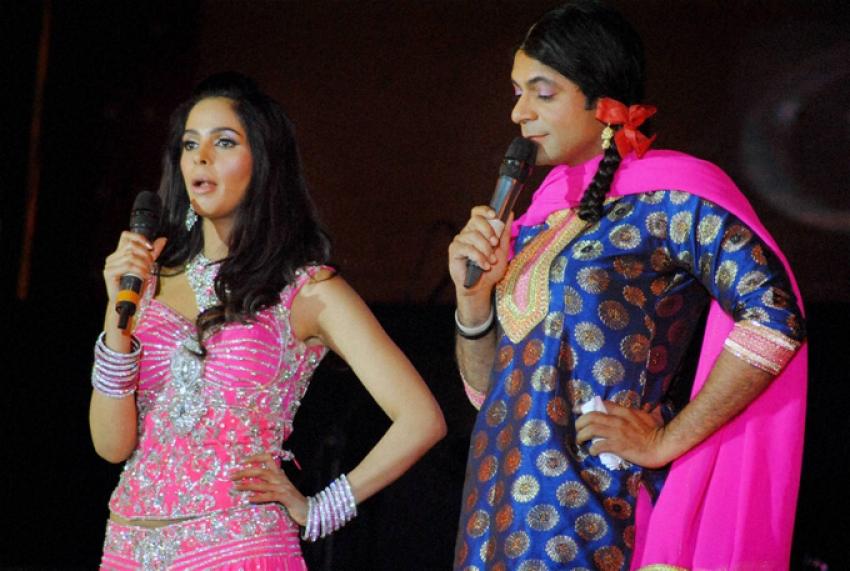 Salman Khan, Madhuri Dixit and Elli Avram at Saifai Mahotsav Photos
