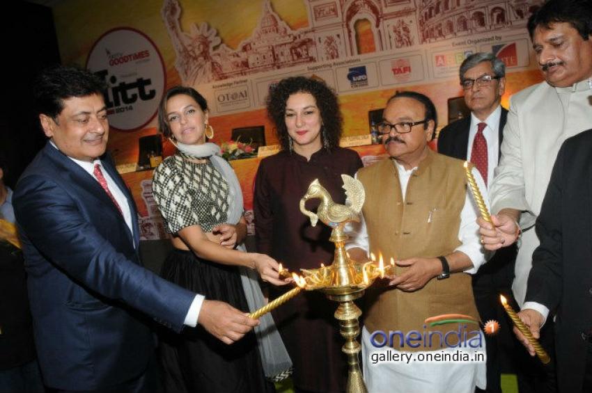 Neha Dhupia inaugurates the 67th Indian International Travel & Tourism Photos