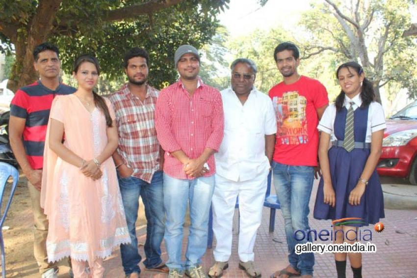 Ondu Romantic Crime Kathe Movie Launched Photos