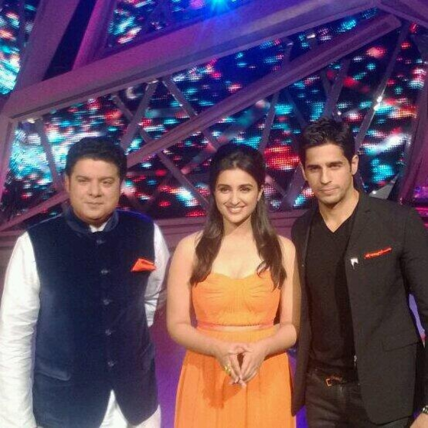 Hasee Toh Phasee film promotion on the set of Nach Baliye 6 Photos
