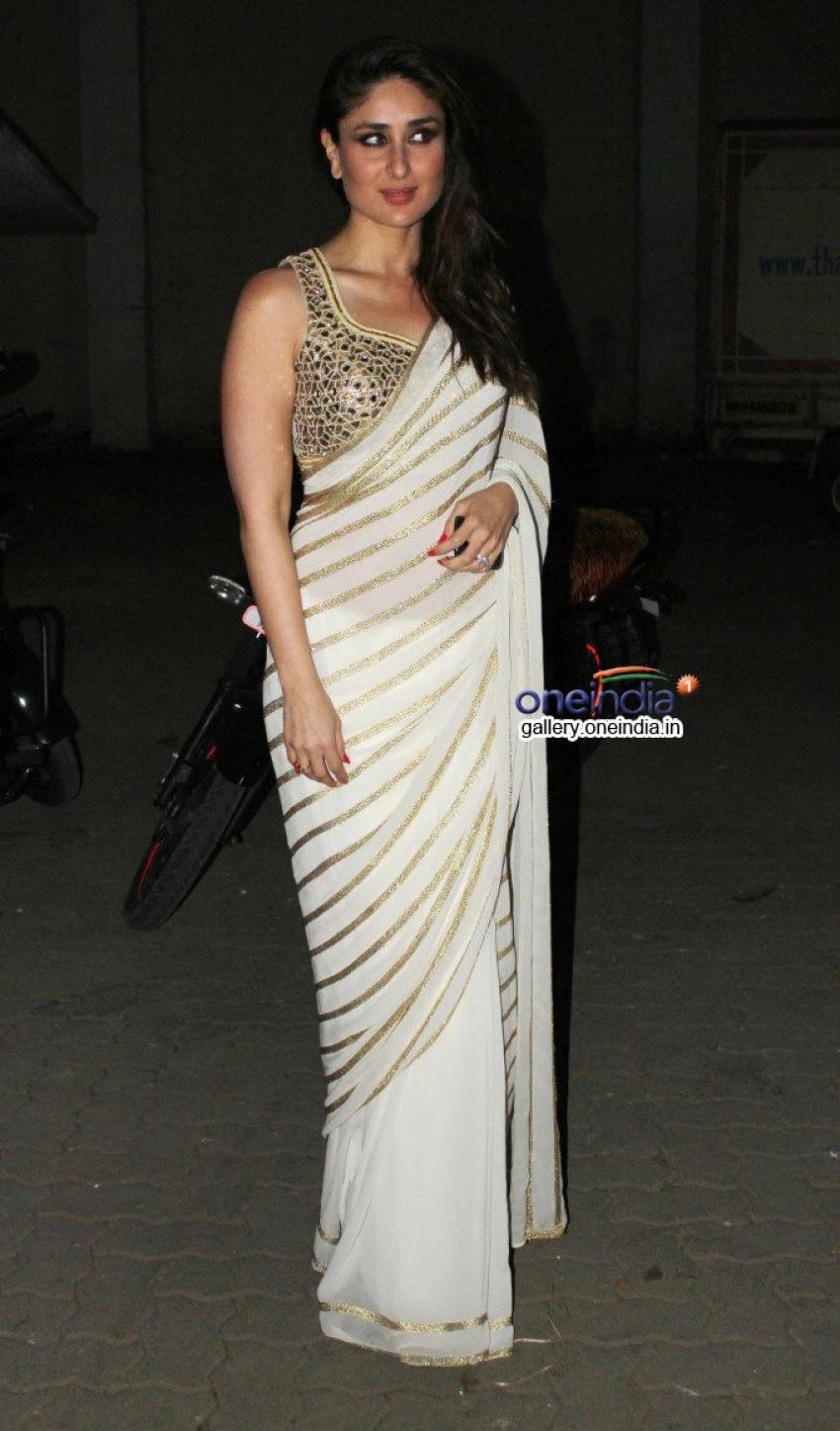 Saif Ali Khan and Kareena Kapoor snapped at Mehboob Studio Photos