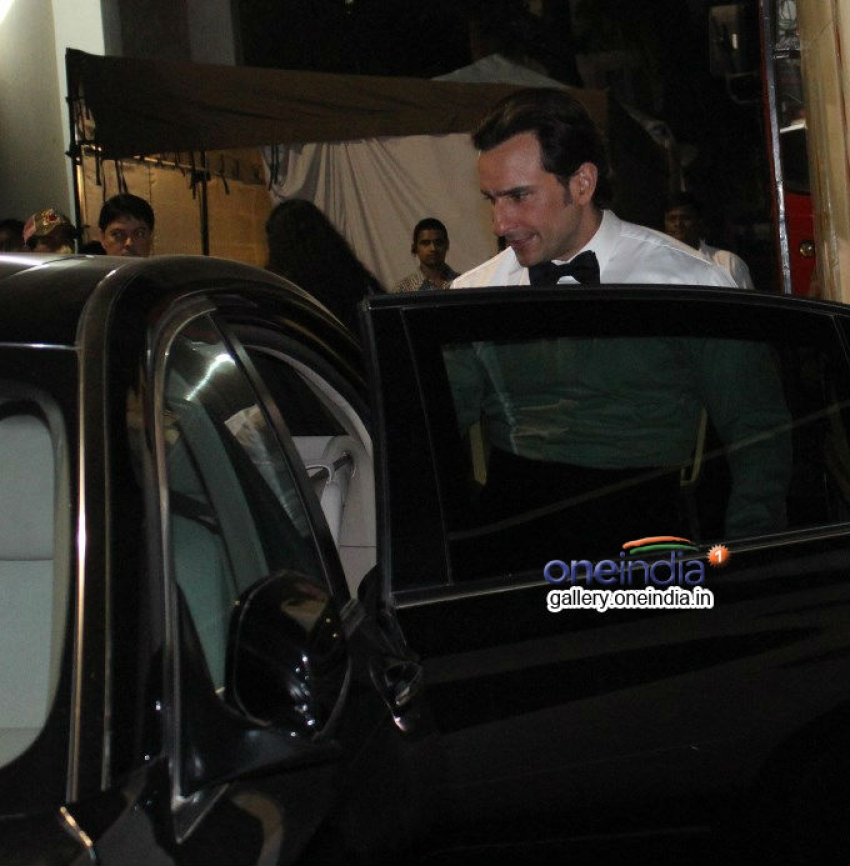 Saif Ali Khan and Kareena Kapoor snapped at Mehboob Studio Photos