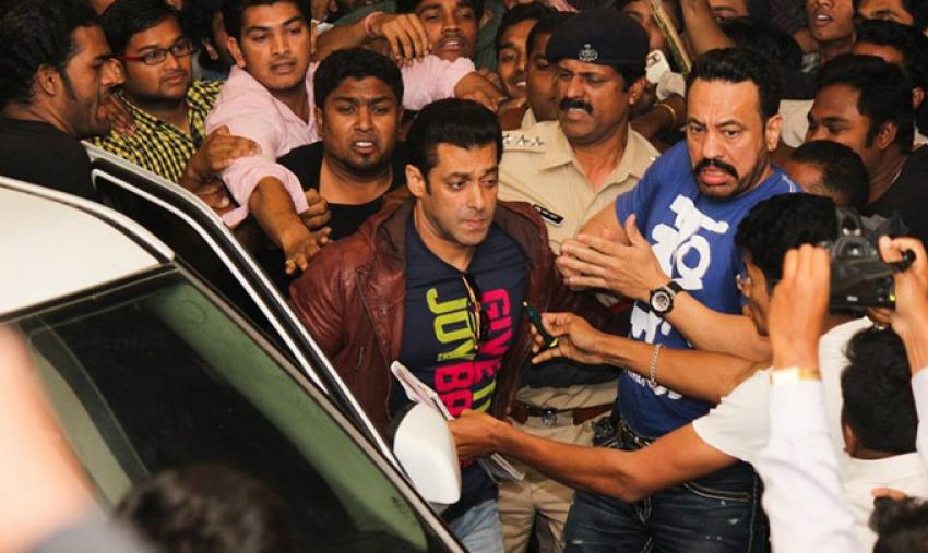 Jai Ho film promotion at Nagpur Photos