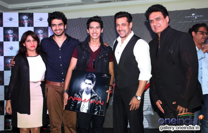 Salman Khan Launches Armaan Malik's Debut Album Photos