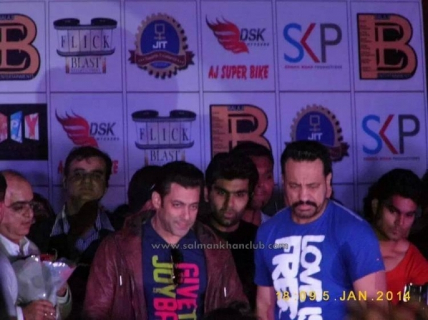 Jai Ho promotion at JIT collage in Nagpur Photos