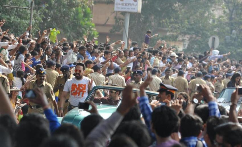 Salman, Ranbir, Sushmita & Preity at Republic Day Parade Photos