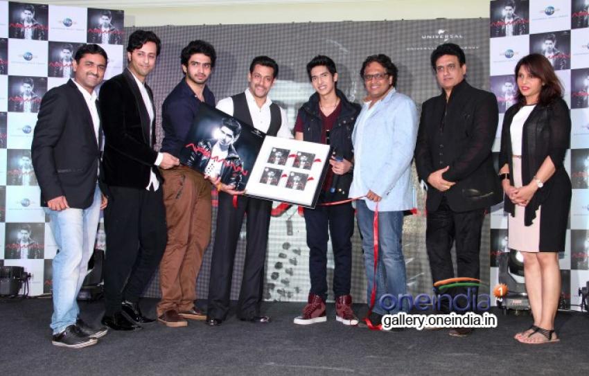 Salman Khan Launches Armaan Malik's Debut Album Photos