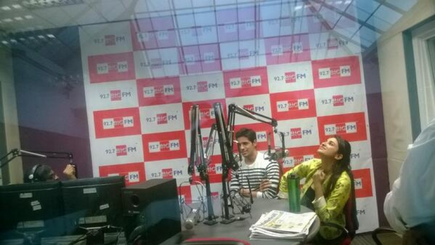 Hasee Toh Phasee Film Promotion On Fever 104 FM Photos