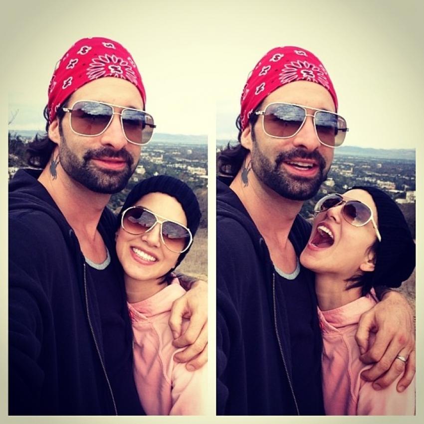 Lovely Couple Sunny Leone & Daniel Webber Photos