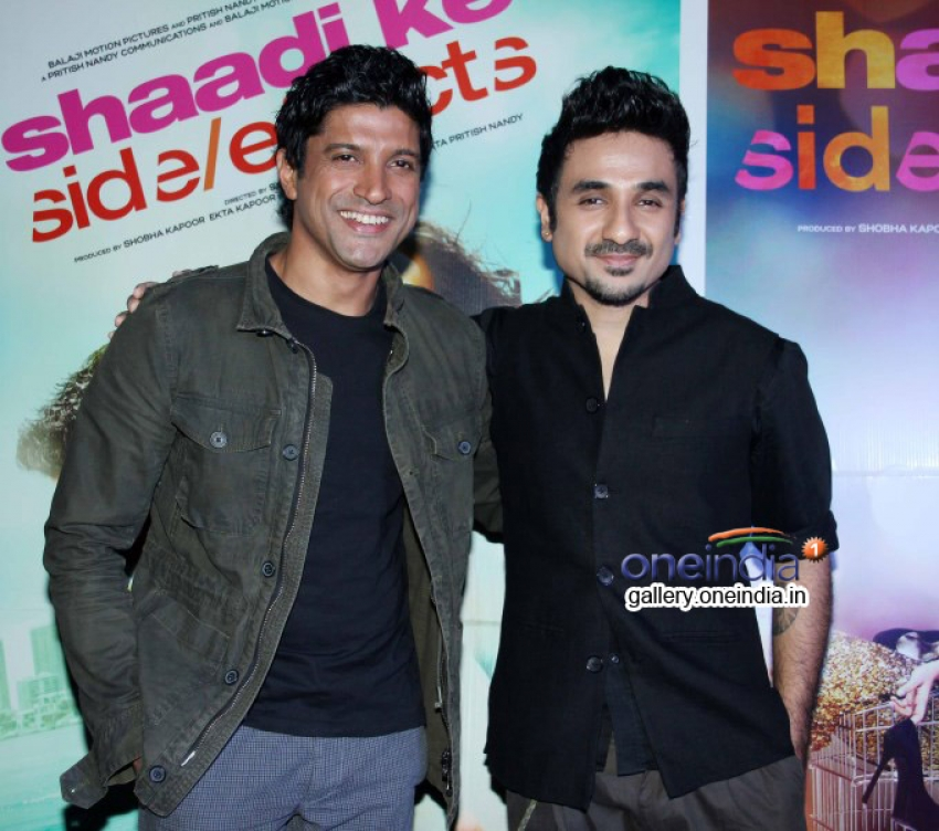 Promotion of film Shaadi Ke Side Effects Photos
