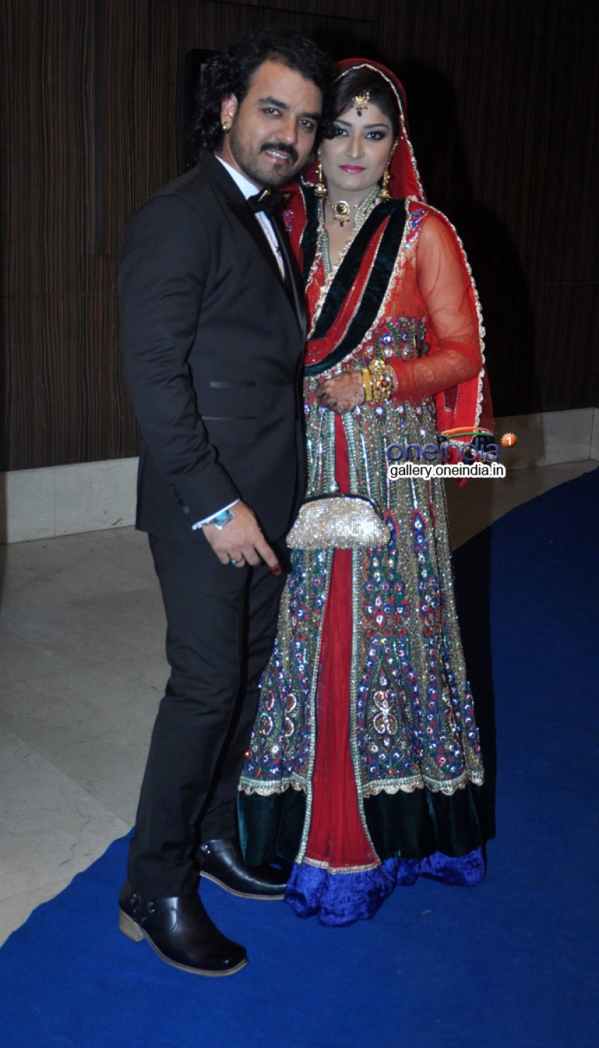 Toshi Sabri's Wedding Reception Photos