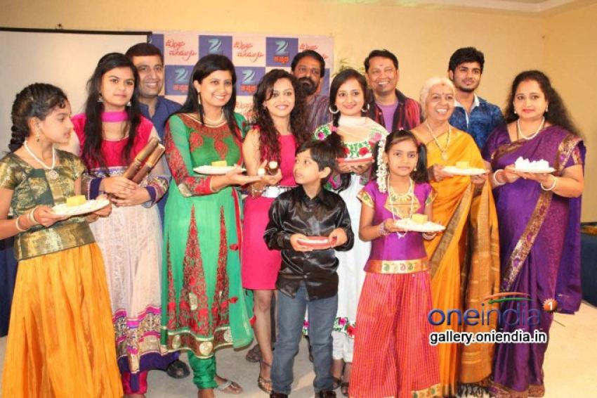 Zee Kannada's Megha Mayuri - Serial Press Meet Photos