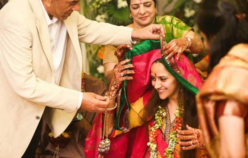 Ahana Deol And Vaibhav Vohra's Wedding Photos