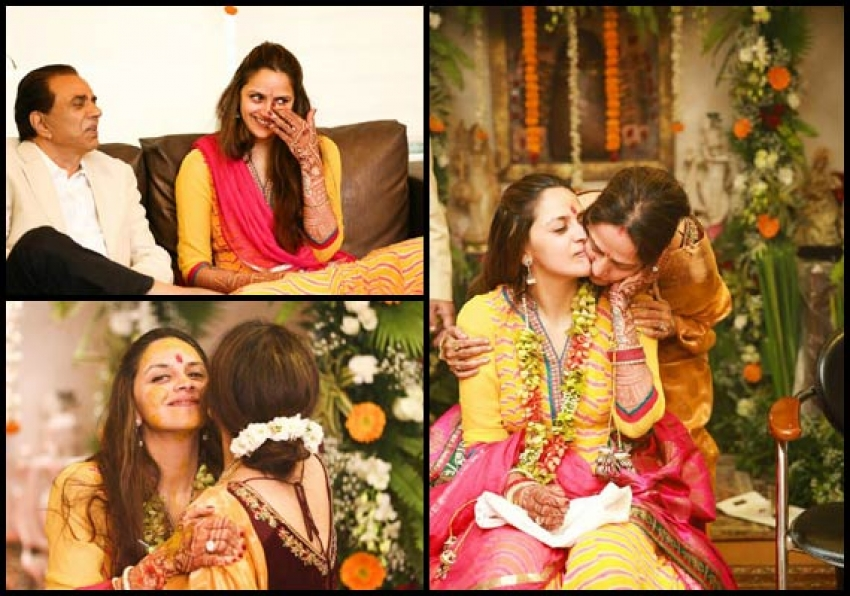 Ahana Deol And Vaibhav Vohra's Wedding Photos